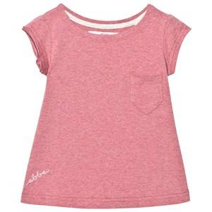 eBBe Kids Girls Tops Pink Becky Tee Washed Rose Melange