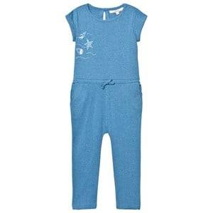 eBBe Kids Girls All in ones Blue Bling Jumpsuit Blue Denim Melange