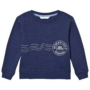 eBBe Kids Boys Jumpers and knitwear Blue Sacke College Sweater Sea Blue Neps