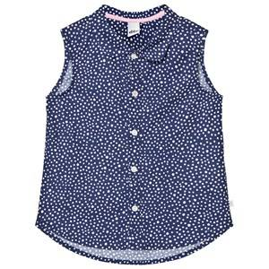 eBBe Kids Girls Tops Blue Coco Blouse Dotted Midnight Blue