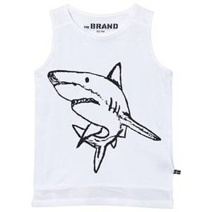 The BRAND Unisex Private Label Tops White Long Mesh Tank White