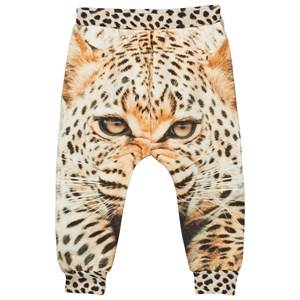 Popupshop Unisex Bottoms Multi Baggy Leggings Leopard
