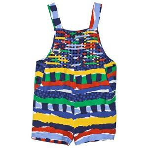 Stella McCartney Kids Girls All in ones Multi Multi Rag Print Overalls