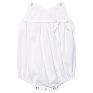 Kiss How To Kiss A Frog Boys All in ones White Mr Romper White
