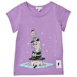 Civiliants Unisex Tops Purple Hat Dogs Top Lilac
