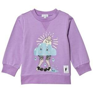 Civiliants Unisex Jumpers and knitwear Purple Happy Sun Sweater Lilac