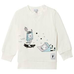 Civiliants Unisex Jumpers and knitwear White Skater Sweater Offwhite