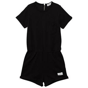 I Dig Denim Unisex All in ones Black Lone Romper Black