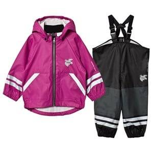 Lindberg Girls Clothing sets Capri Rain Set Deep Orchid