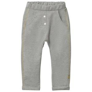 Hust&Claire; Girls Bottoms Grey Sweatpants Glitter Light Grey