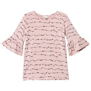 Hust&Claire; Girls Tops Blouse Ruffled Sleeves Peach Dust