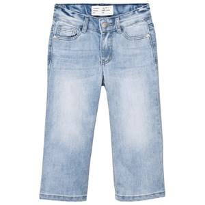 I Dig Denim Girls Bottoms Blue Lowell Culottes Light Blue