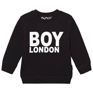 Boy London Unisex Jumpers and knitwear Black Boy London Sweat Black/White