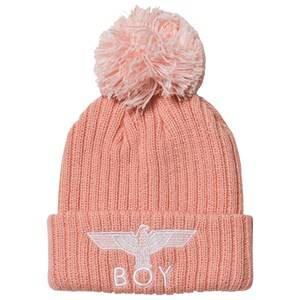 Boy London Girls Headwear Pink Boy Eagle Beanie Pink