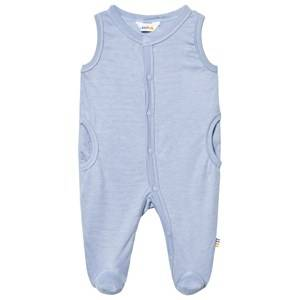 Joha Boys All in ones Blue Sleeveless Footed Baby Body Forever Blue