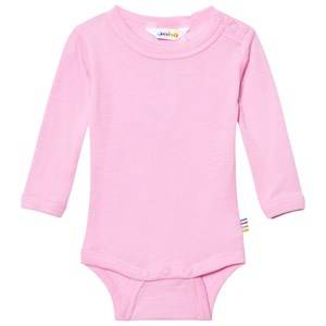 Joha Girls All in ones Pink Long Sleeve Baby Body Rosa