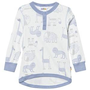 Joha Boys Tops Zoo Long Sleeve Tee Forever Blue