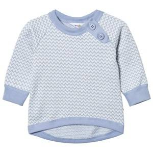 Joha Boys Tops Blue Zig Zag Sweater Blue