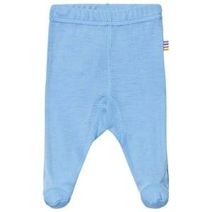 Joha Boys Bottoms Blue Footed Leggings Light Turquoise