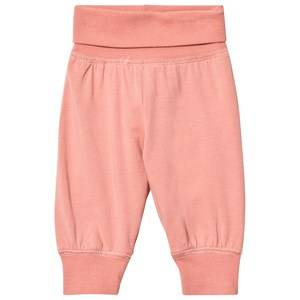Pippi Girls Bottoms Pink Pants Solid Shell