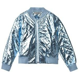 Koolabah Unisex Coats and jackets Blue Metallic Blue Jacket Light Blue