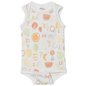 Joha Unisex All in ones Multi Sleeveless Baby Body Tutti Frutti
