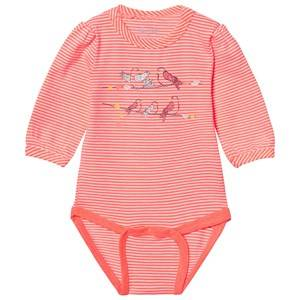 Me Too Unisex All in ones Orange Kin 246 Baby Body Bright Coral