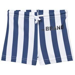The BRAND Boys Private Label Swimwear and coverups Blue Swim Shorts Blue Stripe