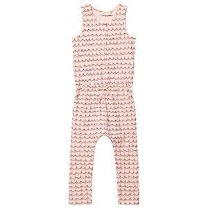 Soft Gallery Girls All in ones Pink Serpentine Jumpsuit Scallop Shell
