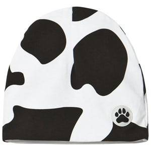 Little LuWi Unisex Headwear White Cow Hat