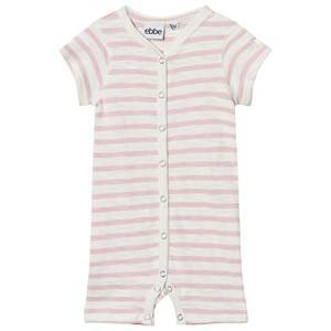 eBBe Kids Girls All in ones Pink Dallas Romper Off White/Peachy Pink Stripe