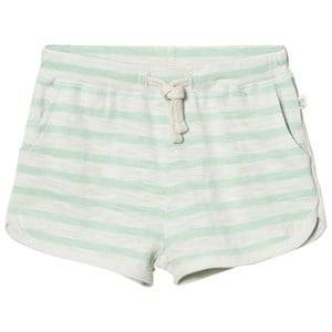 eBBe Kids Girls Shorts Green Daisy Shorts Off White/Ever Green