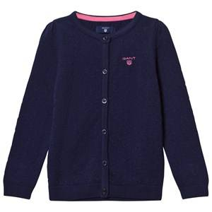 Gant Girls Jumpers and knitwear Blue Blue Textured Knit Cardigan