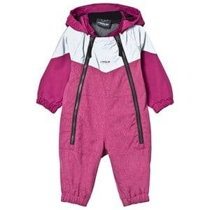 Lindberg Girls Coveralls Purple Billdal Baby Coverall Deep Orchid