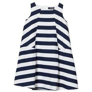 Lands End Girls Dresses Multi Multi Stripe Trapeze Woven Dress