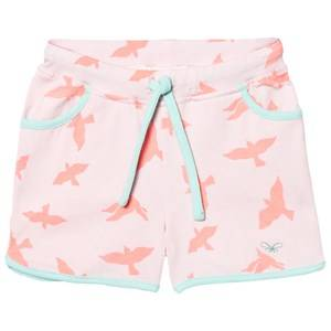 Livly Girls Shorts White College Shorts Pink Luna