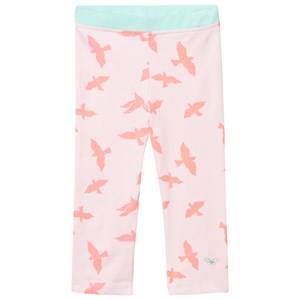 Livly Girls Bottoms White Essential Pants Pink Luna