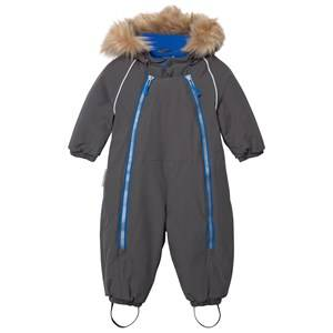 Ticket to heaven Unisex Childrens Clothes Coveralls Grey Snowbaggie Coverall Dark Shadow