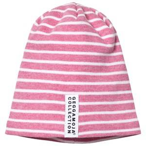 Geggamoja Girls Commission Headwear Pink Topline Hat Pink Melange/White