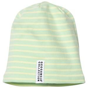 Geggamoja Unisex Headwear Green Topline Hat Soft Green/Yellow