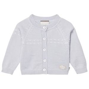 Lillelam Boys Jumpers and knitwear Blue Cardigan Light Blue