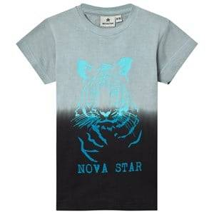 Nova Star Unisex Tops Grey Tiger Tee Grey