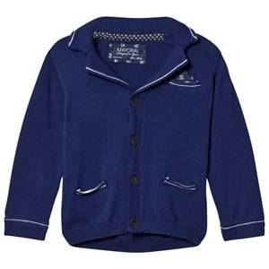 Image of Mayoral Boys Jumpers and knitwear Navy Navy Knit Blazer Cardigan