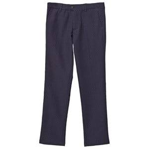 Mayoral Boys Bottoms Navy Navy Jacquard Trousers