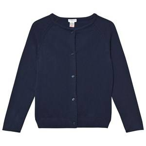 Cyrillus Girls Jumpers and knitwear Navy Navy Knit Cardigan