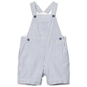 Cyrillus Girls All in ones Blue Blue Stripe Dungarees