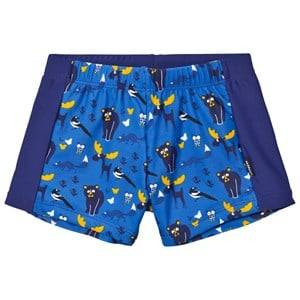 Lindberg Boys Swimwear and coverups Blue Vincent Swim Trunk Blue