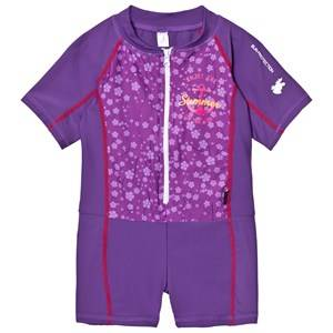 Lindberg Girls Swimwear and coverups Purple Joy Suit Lilac