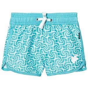 Lindberg Unisex Swimwear and coverups Blue Tulum Beach Shorts Turquoise