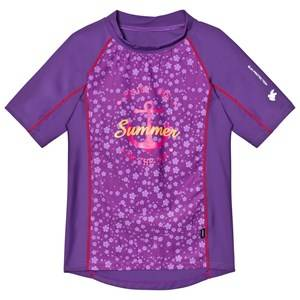 Lindberg Girls Swimwear and coverups Purple Sky Shirt Lilac